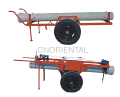 Concrete pole trailers