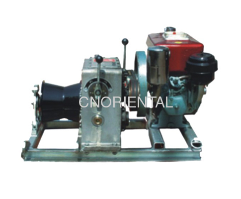 diesel linear motorised winch
