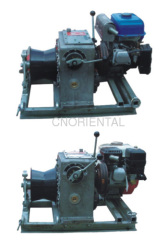 gasoline constant tension motorised winch
