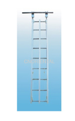 anchoring light aluminum alloy hook ladder