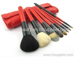 8pcs Cosmetic Brush Set With Case
