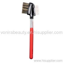 Eye grooming brush