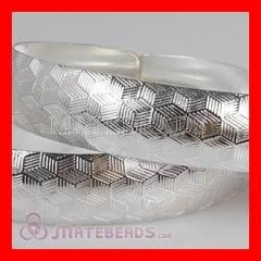 sterling silver engraved bracelet