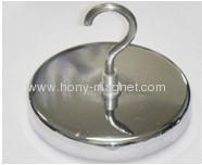 Ferrite holding magnets