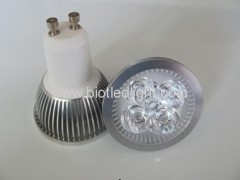 4W 4x1W High Power led spot GU10 base
