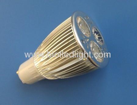 6W 3X2W High Power led spot GU10 base
