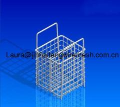 stainless steel handle basket