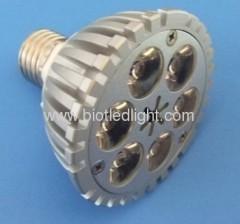 LED par light 6PCS 1W high power par light E27 base