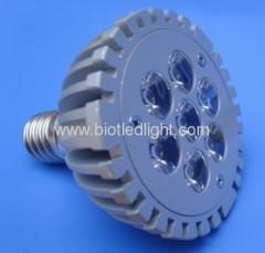 LED par light 7PCS 1W high power par light E7 base