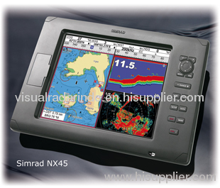 simrad nx45 gps/fishfinder/radar multfunction display products, Fish Finder