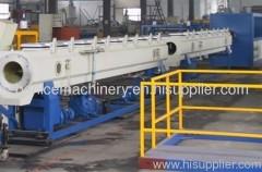 PE large diameter pipe production machine