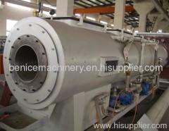 PE large diameter pipe extrusion machine