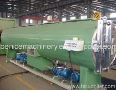PE large diameter pipe extruding machine