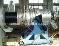 PE large diameter pipe extruding line