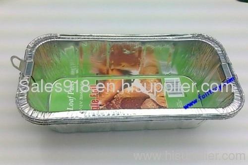 Aluminum Foil Loaf Pan;disposable Foil Container;