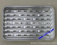 Aluminum Foil Grill Tray;Foil BBQ Tray;Aluminum Foil Pan;