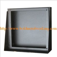 sheet metal toll plaza cabinets