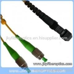 FC/APC to MTRJ Singlemode Duplex Fiber Optic Patch Cord