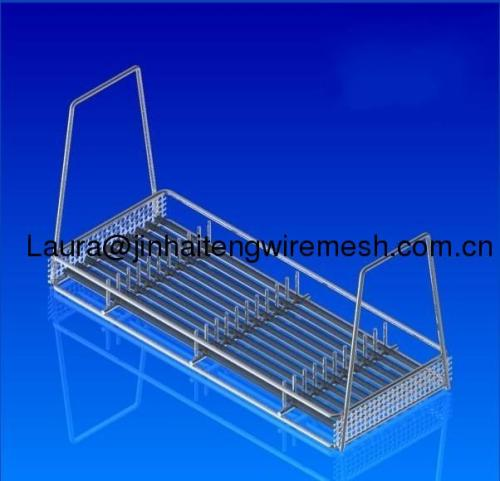 stainless steel tray-handles