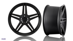 STAGGERED FRONT REAR ALLOY WHEEL