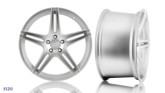 Silver STAGGERED ALLOY WHEEL