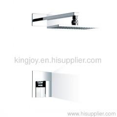 Single lever conceald shower mixer