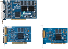 8/16 Channel Video & Audio H.264 RISC Compression Card