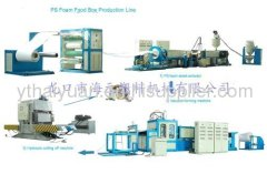 disposable food box making machine