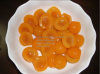 Canned apricots in Syrup