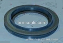 Hub axle oil seal