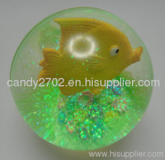 Plastic toy ball gift