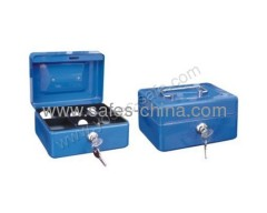 Steel Storage Cash Box With Tray and key