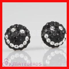crystal Smile Stud Earrings