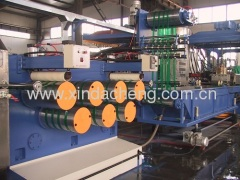 PET strapping line