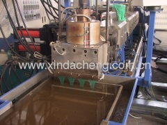 PET band extrusion line