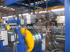 extruder for strap band