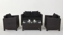 outdoor rattan furniture lounge set