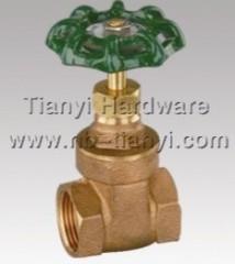 bronze gate valve thread