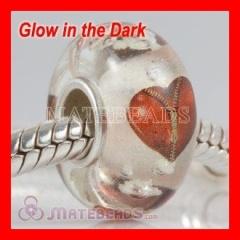 european Lampwork Glass fluorescent beads