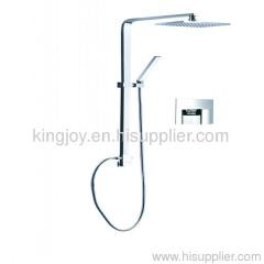 Single lever concealed shower mixer bath foucet