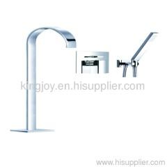Single lever bath/shower mixer