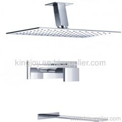 Single lever concealed bath/shower mixer