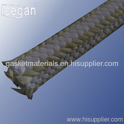 PTFE Braided Packing with Aramid Corners