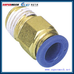 PC compact one-touch tube pneumatic air fittings
