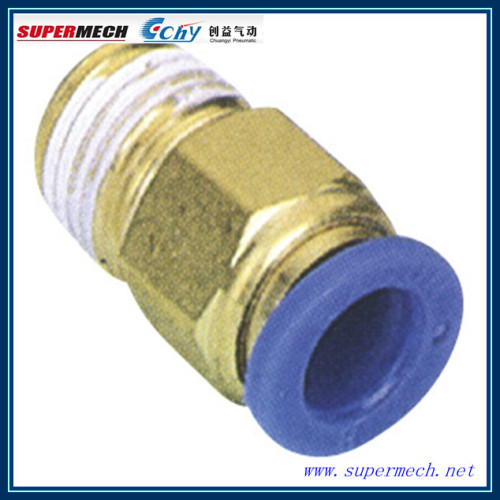 Pc compact one touch tube pneumatic fitting manufacturers