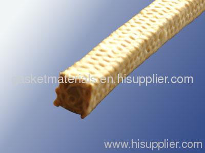 Aramid fiber braided packing