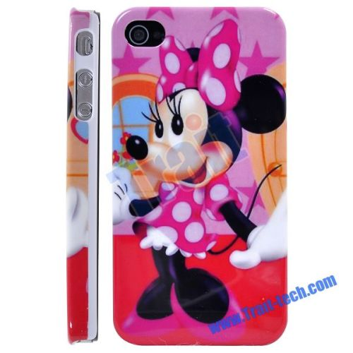 iPhone iphone4 phone cases : Unique Super Minnie Mouse Plastic Hard Case for iPhone 4 T-iP4G ...