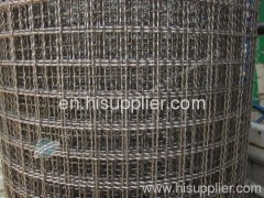 heavy stainless steel crimped wire mesh