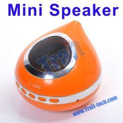 Mobile Multimedia 3D Stereo Micro SD/ MMC Card Portable Mini USB2.0 MP3 Speaker