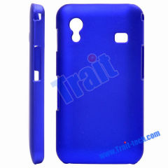 Stylish Frosted Plastic Hard Case Cover for Samsung Galaxy Ace S5830(Dark blue)